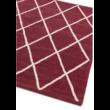 Albany Gyémánt Vörös Szőnyeg 80x150 cm