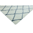 Alto Bézs és Kék Gyémánt Szőnyeg 120x170 cm
