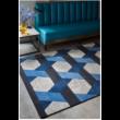 Camden Kék Szőnyeg 120x170 cm
