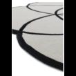 Lotus Fekete Egyedi Szőnyeg 200x200 cm