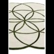 Lotus Zöld Egyedi Szőnyeg 200x200 cm