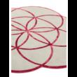 Lotus Piros Egyedi Szőnyeg 200x200 cm
