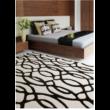 Matrix Inda fekete-fehér Szőnyeg 120x170 cm