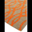 Matrix Inda Narancs Futó Szőnyeg 70x240 cm