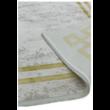 Olympia Szürke Szőnyeg Arany Kerettel 120x170 cm