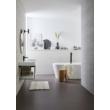 Bahamas Csíkos Krém Fürdőszobaszőnyeg 60x90 cm
