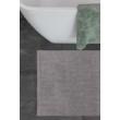 Bahamas Uni Világosszürke Fürdőszobaszőnyeg 40x60 cm
