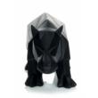 Rhino 110 Fekete Szobor