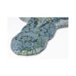 Zöld aligátor formájú gyerekszőnyeg 90x150 cm
