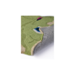 Zöld Színű Dínó Formájú 3 gyerekszőnyeg
