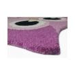 Pink színű bagoly formájú szőnyeg