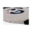 Panda formájú gyerekszőnyeg 60x90 cm