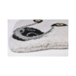 Fehér színű jegesmedve formájú gyerekszőnyeg 90x150 cm