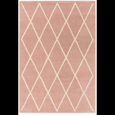 Albany Gyémánt Rózsaszín Szőnyeg 80x150 cm