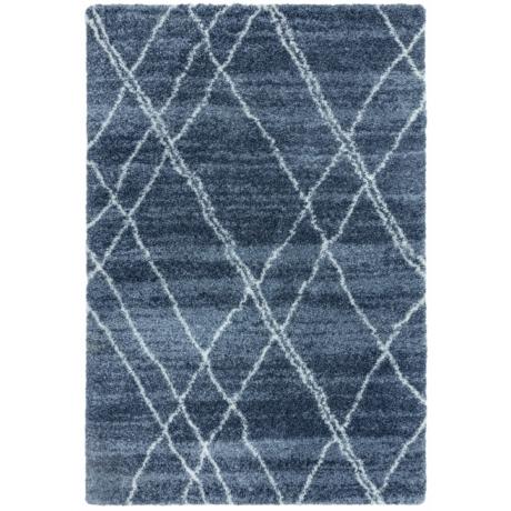 Alto Kék és Bézs Szőnyeg 120x170 cm