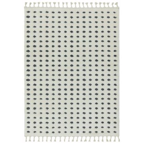 Ariana Szürke Pöttyös Szőnyeg 80x150 cm