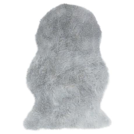 Auckland Ezüst Sheepskin Szőnyeg 70x100 cm
