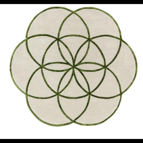 zöld egyedi szőnyeg