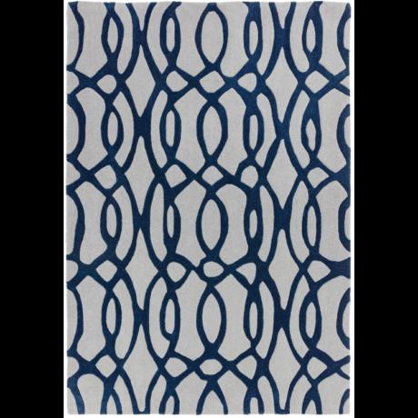 Matrix Inda Kék Szőnyeg 120x170 cm