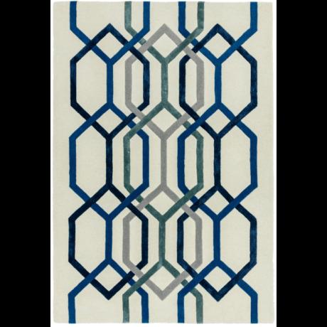 Matrix Hexagon Fehér Szőnyeg 120x170 cm