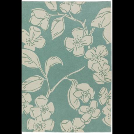 Matrix Virágos Kék Szőnyeg 80x150 cm