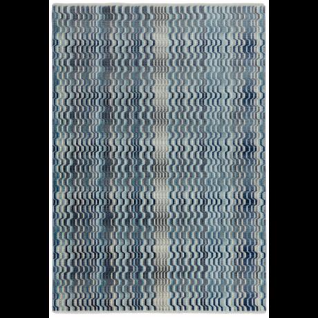 Skye Hullámos Kék Szőnyeg 120x180 cm