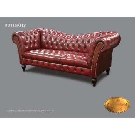 Chesterfield Butterfy 3-as kanapé
