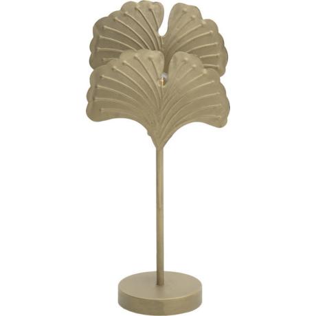 ginko arany asztali lámpa