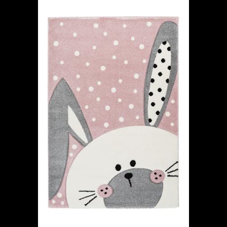 Amigo 324 Pink Nyuszis Gyerekszőnyeg 80x150 cm
