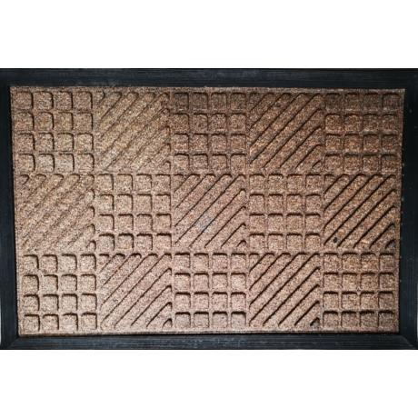 PP Mat Bordás Barna (330) Bejárati Szőnyeg 40x60 cm