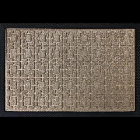 PP Mat Bordás Bézs (327) Bejárati Szőnyeg 40x60 cm