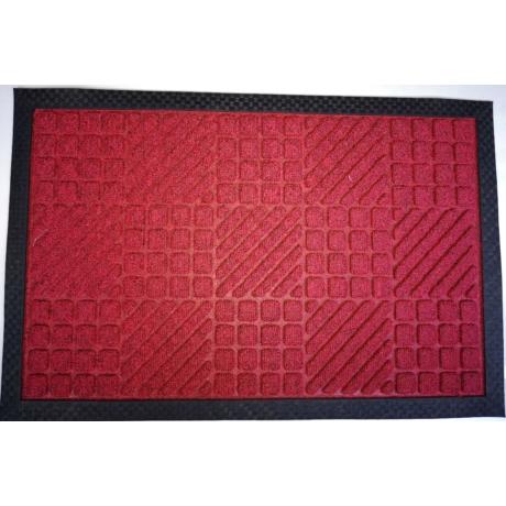 PP Mat Bordás Piros (333) Bejárati Szőnyeg 40x60 cm