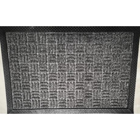 PP Mat Bordás Szürke (336) Bejárati Szőnyeg 40x60 cm