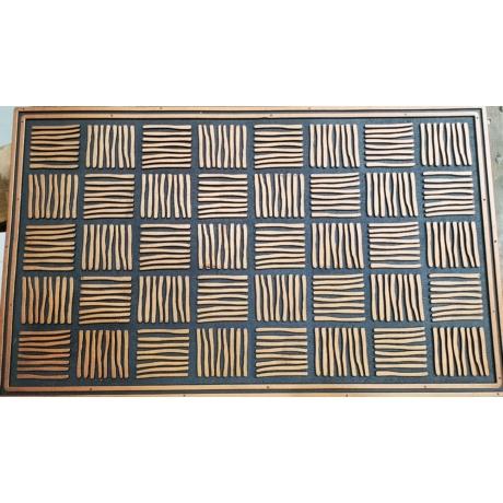 Torino mat - 003 Réz Bejárati Szőnyeg 45x75 cm