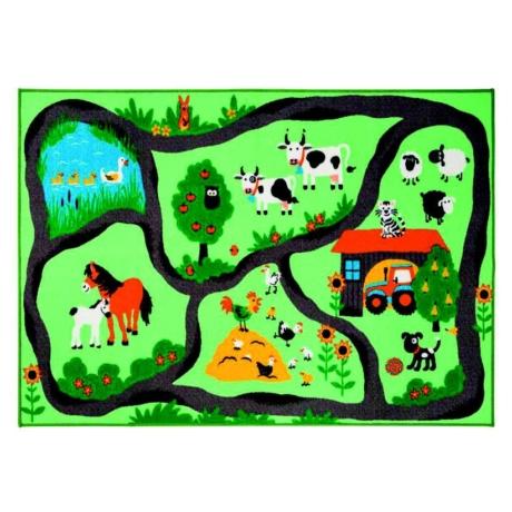 Játszószőnyeg Farm Gyerekszőnyeg 100x150 cm