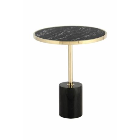 asztal fekete arany márvány