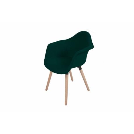 zöld fotel