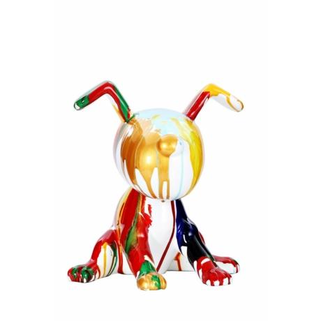 Beagle II színes szobor