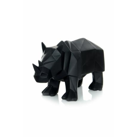 fekete geometrikus rhino