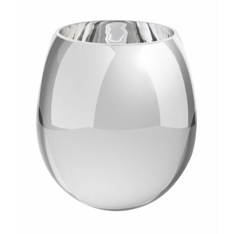 üveg váza ezüst