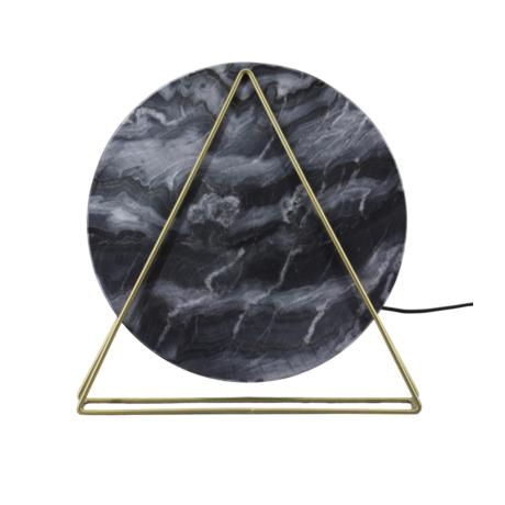 márvány réz lámpa