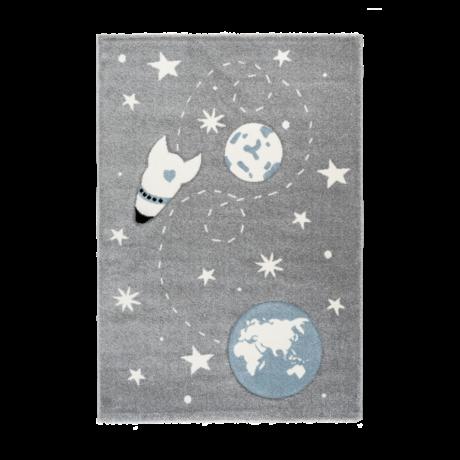 Amigo 330 Ezüst Gyerekszőnyeg Világűr 80x150 cm