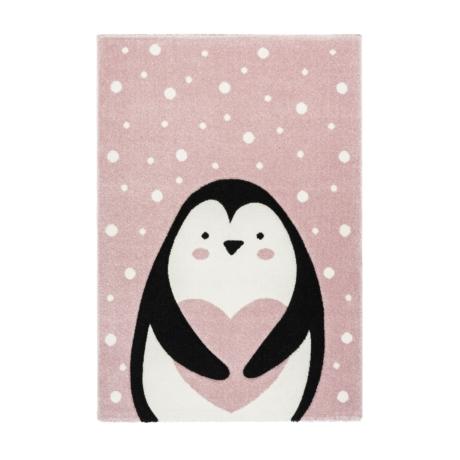 Amigo 325 Pink Pingvin Gyerekszőnyeg 80x150 cm
