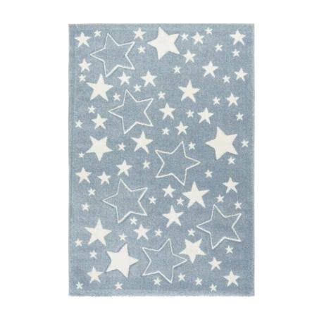 Amigo 329 Kék Gyerekszőnyeg Csillagokkal 80x150 cm