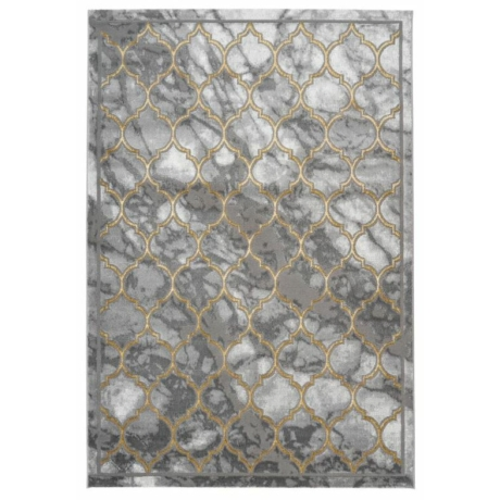 Marmaris 401 Ezüst-Arany Szőnyeg 80x150 cm
