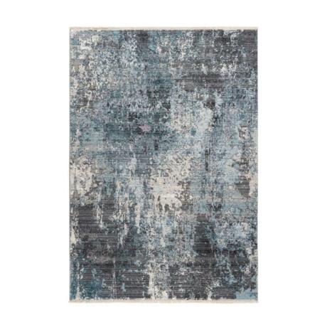 Medellin 400 Ezüst-Kék Szőnyeg 80x150 cm