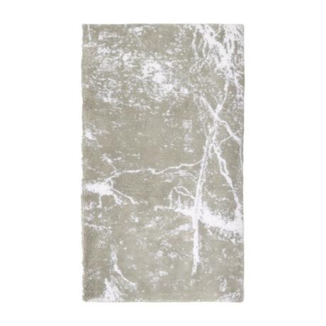 Morgana bézs márvány mintás fürdőszobaszőnyeg 70x120 cm