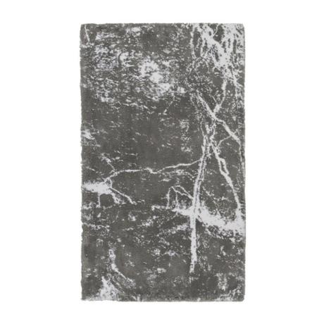 Morgana szürke márványmintás fürdőszobaszőnyeg 70x120 cm