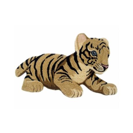 Tigris formájú gyerekszőnyeg 60x90 cm