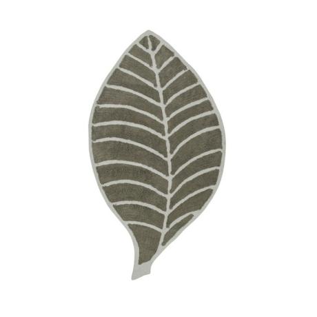 Leaf levél formájú szőnyeg bézs/elefántcsont színű 60x120 cm